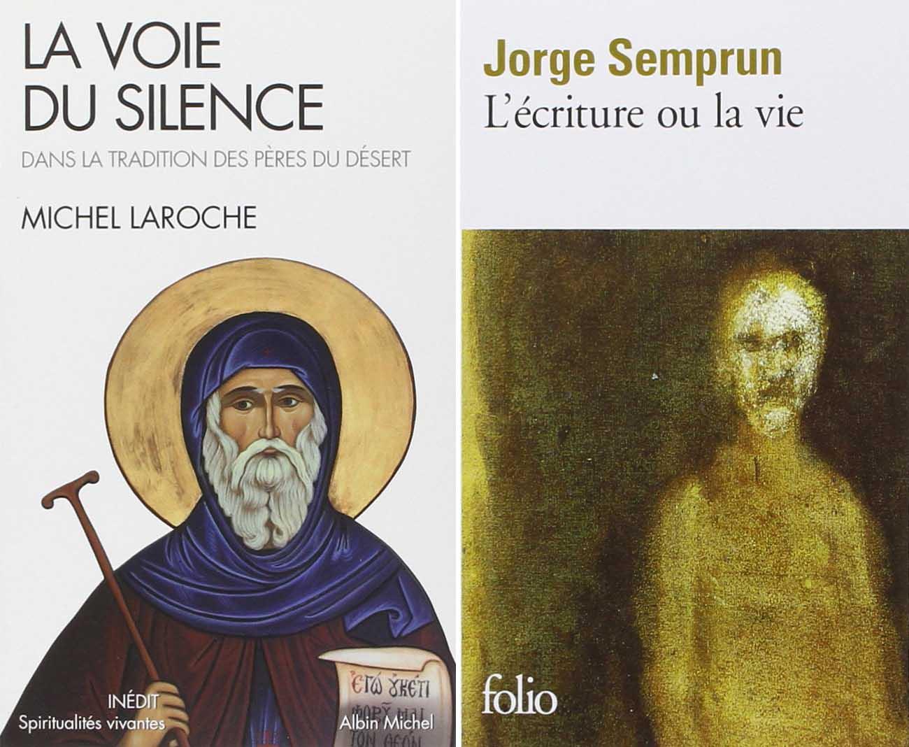 La voie du silence – L'écriture ou la vie